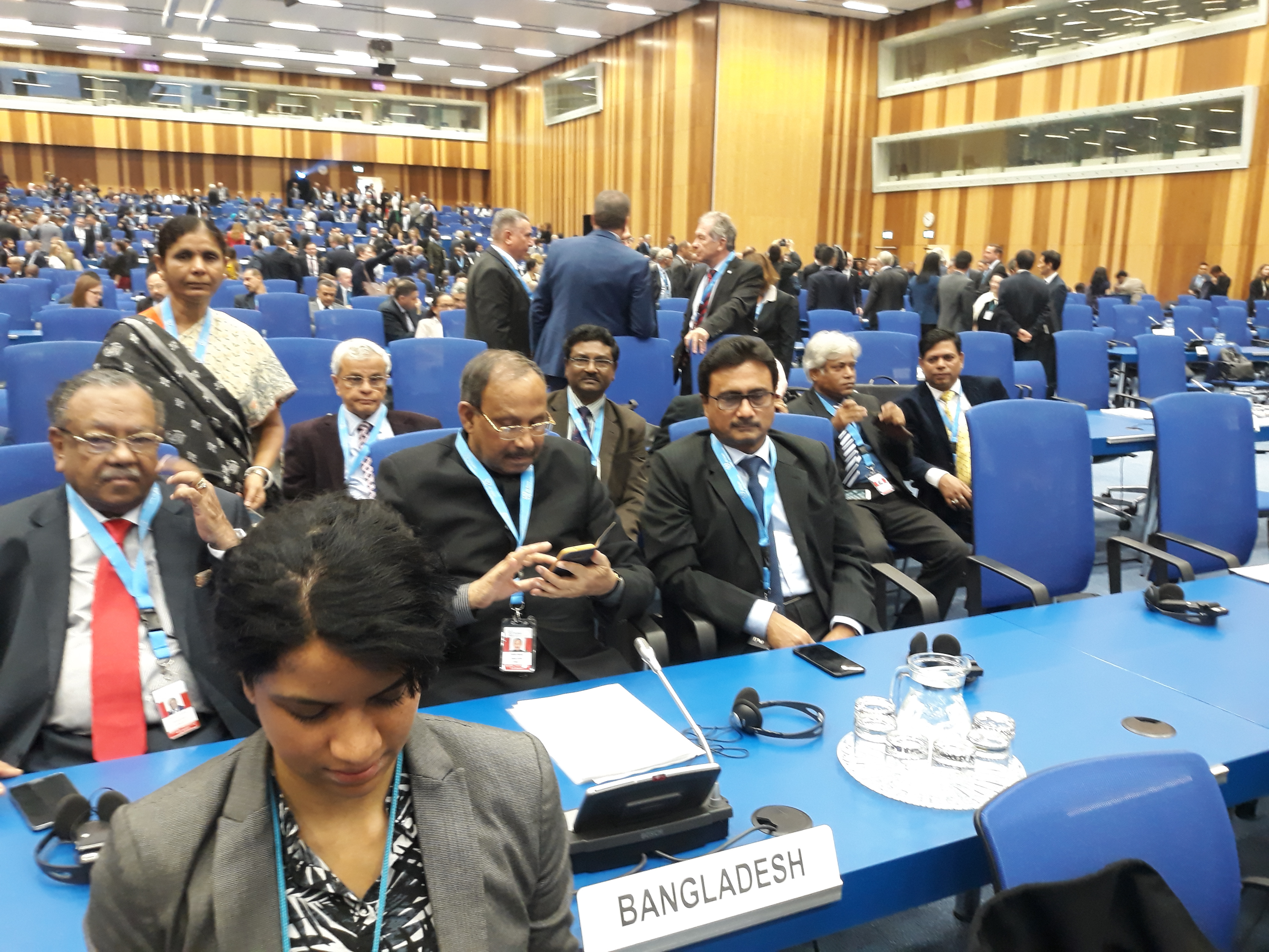 Participation of Bangladesh in 61st IAEA General Conference