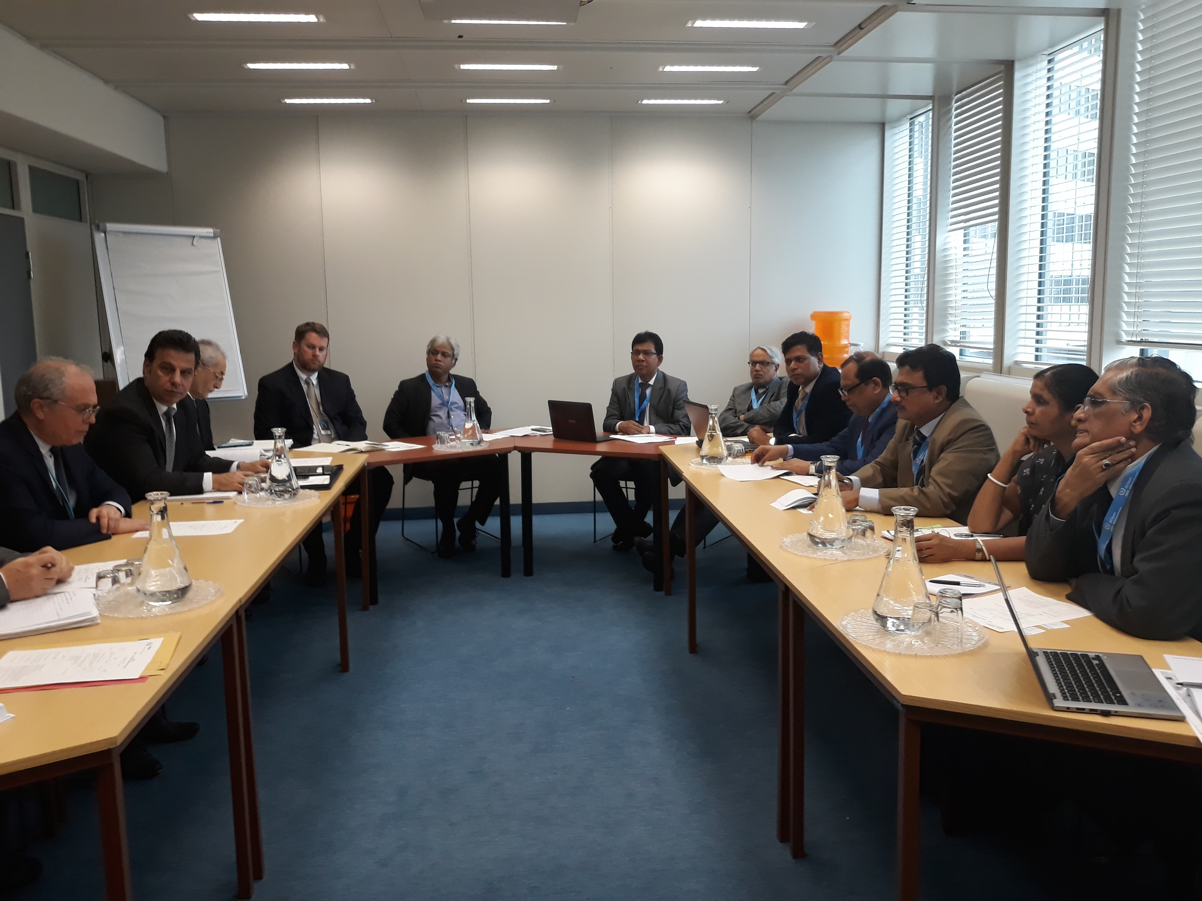 Infrastructure Meeting Between Bangladesh and IAEA