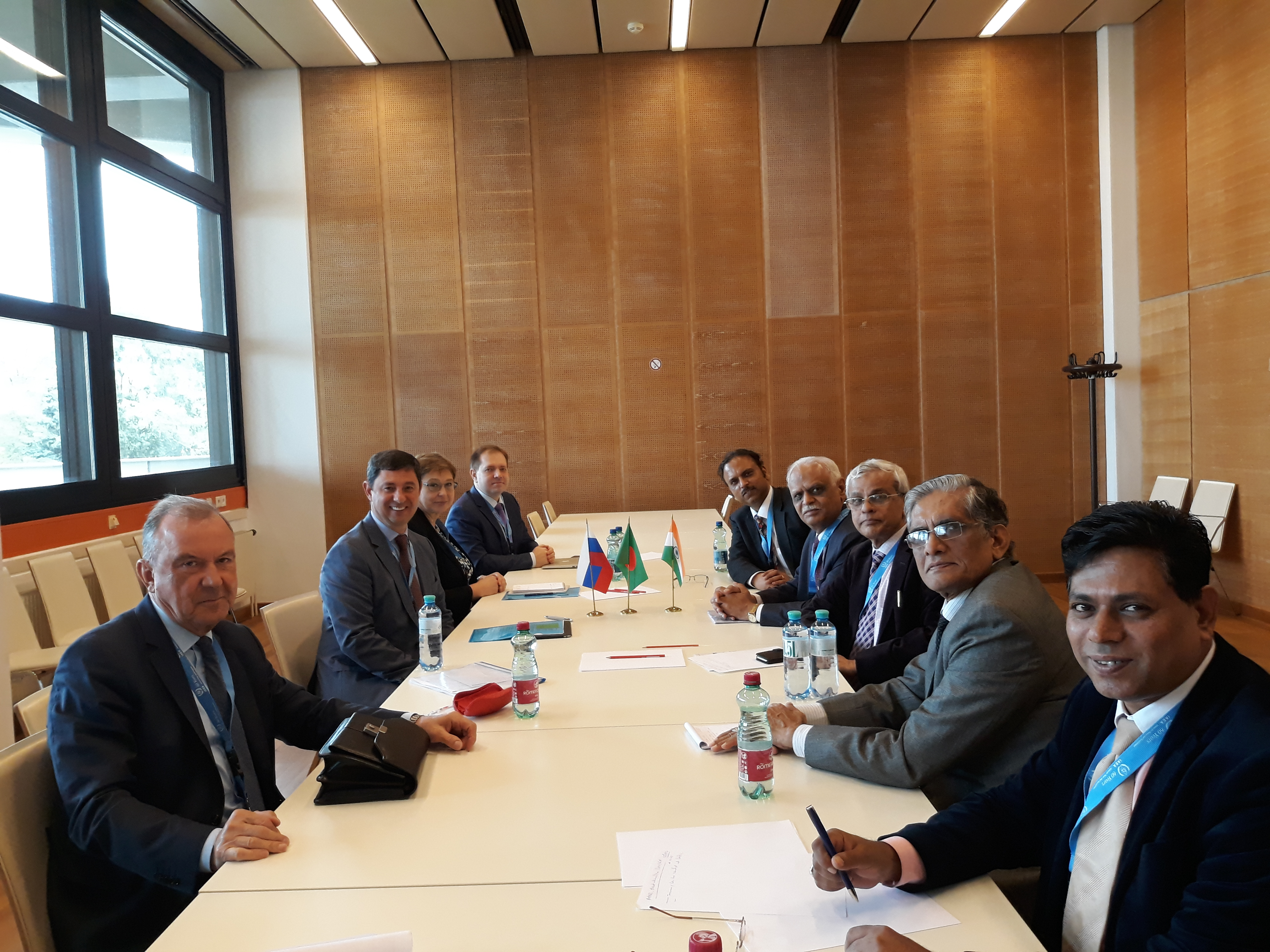 Meeting Between Regulatory bodies of Bangladesh, India and Russia