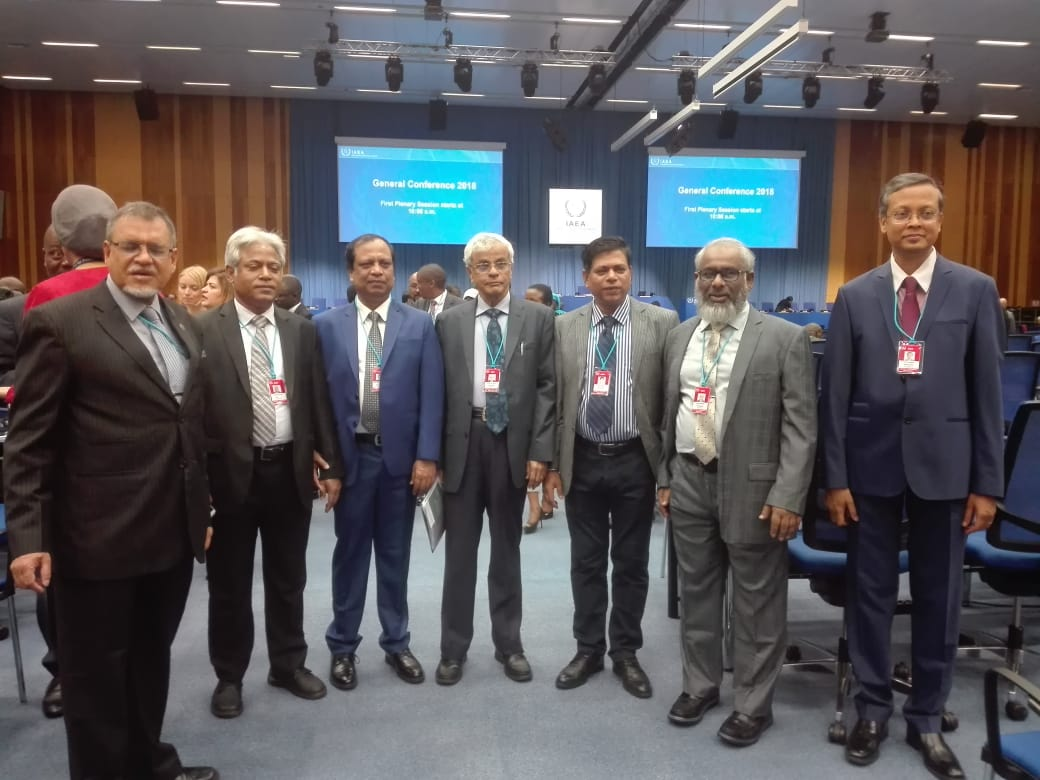 Bangladesh Repreesntatives at 62nd IAEA General Conference