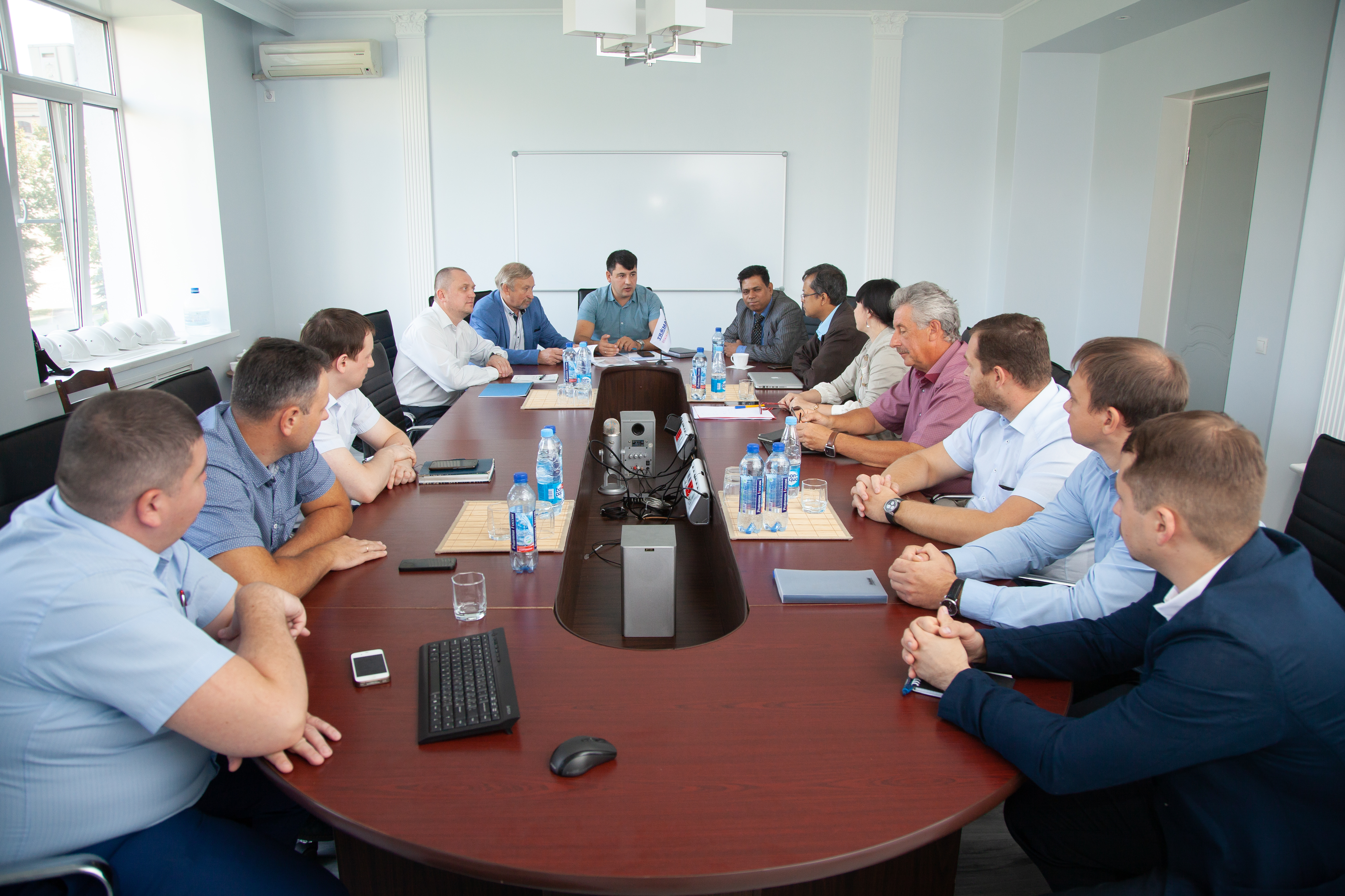 Meeting Between BAERA and VO Safety at Moscow Core Catcher FactoryCore Catcher Meeting